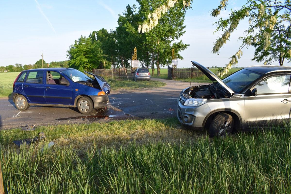 Figyelmetlenség okozott balesetet Mezőkovácsházán