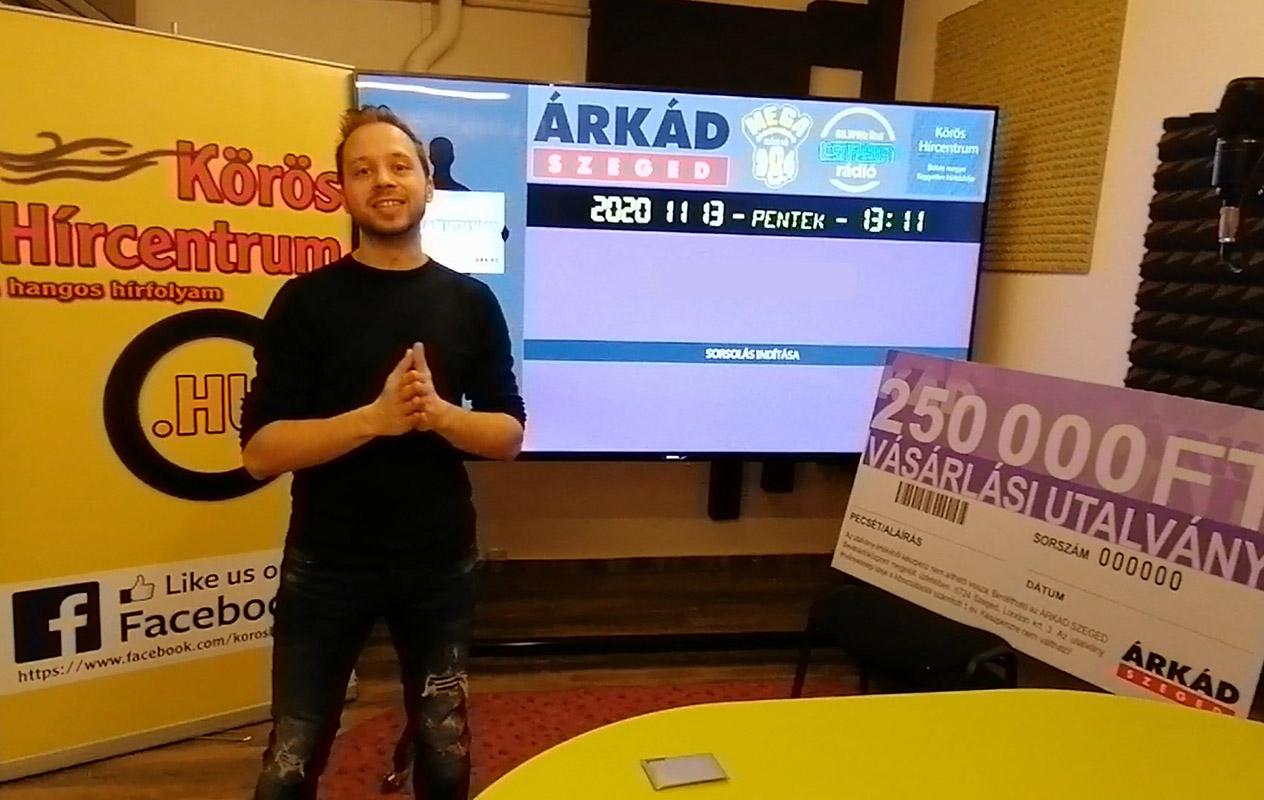 Kisorsoltuk a 250.000 forint értékű vásárlási utalvány nyertesét!