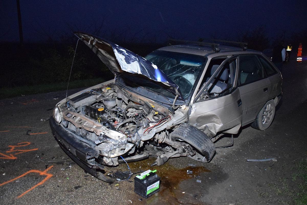 Közlekedési balesetnél helyszíneltek a rendőrök Gyulán és Kamuton