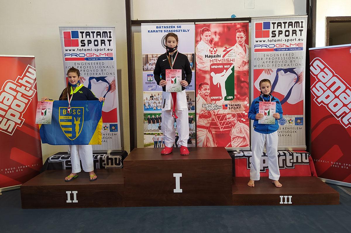 Szarvasi sikerek és érmek a WKF Karate Ligában
