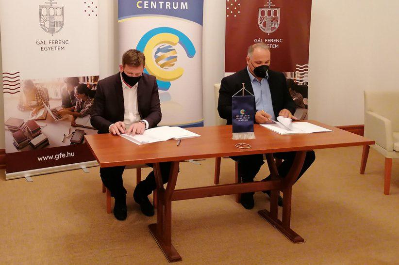 Gál Ferenc, BSZC együttműködési megállapodás aláírása