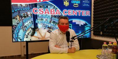 Hrabovszki György, Csaba Center születésnap