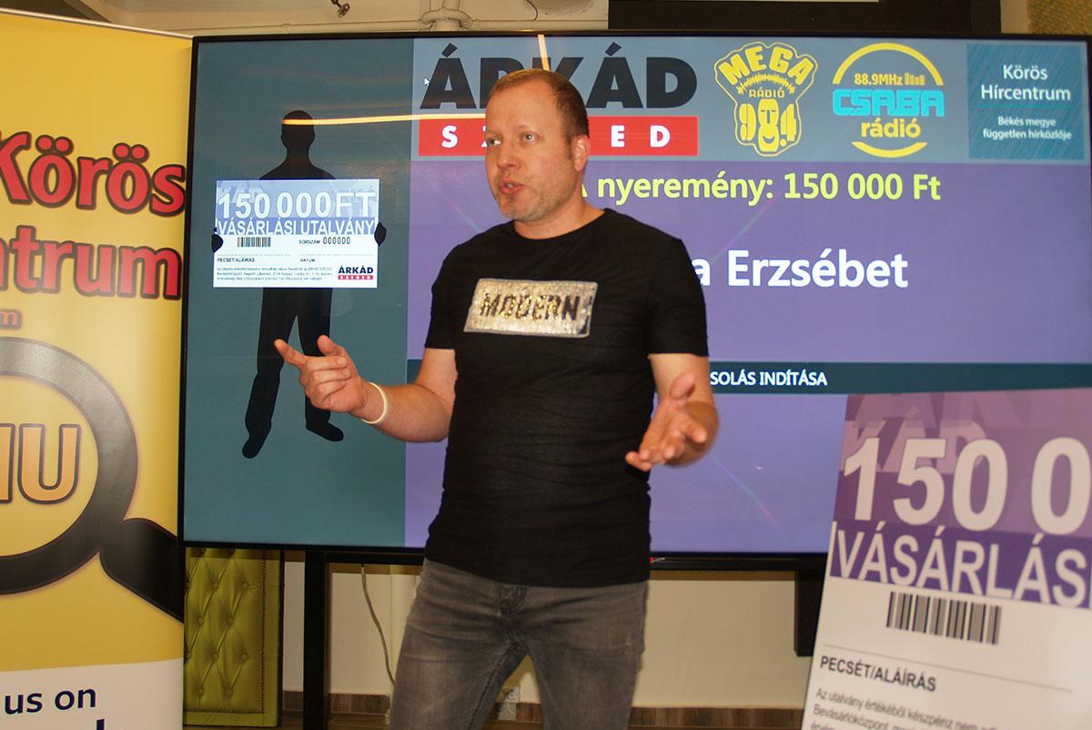 Kisorsoltuk a 150.000 forint értékű vásárlási utalvány nyertesét!