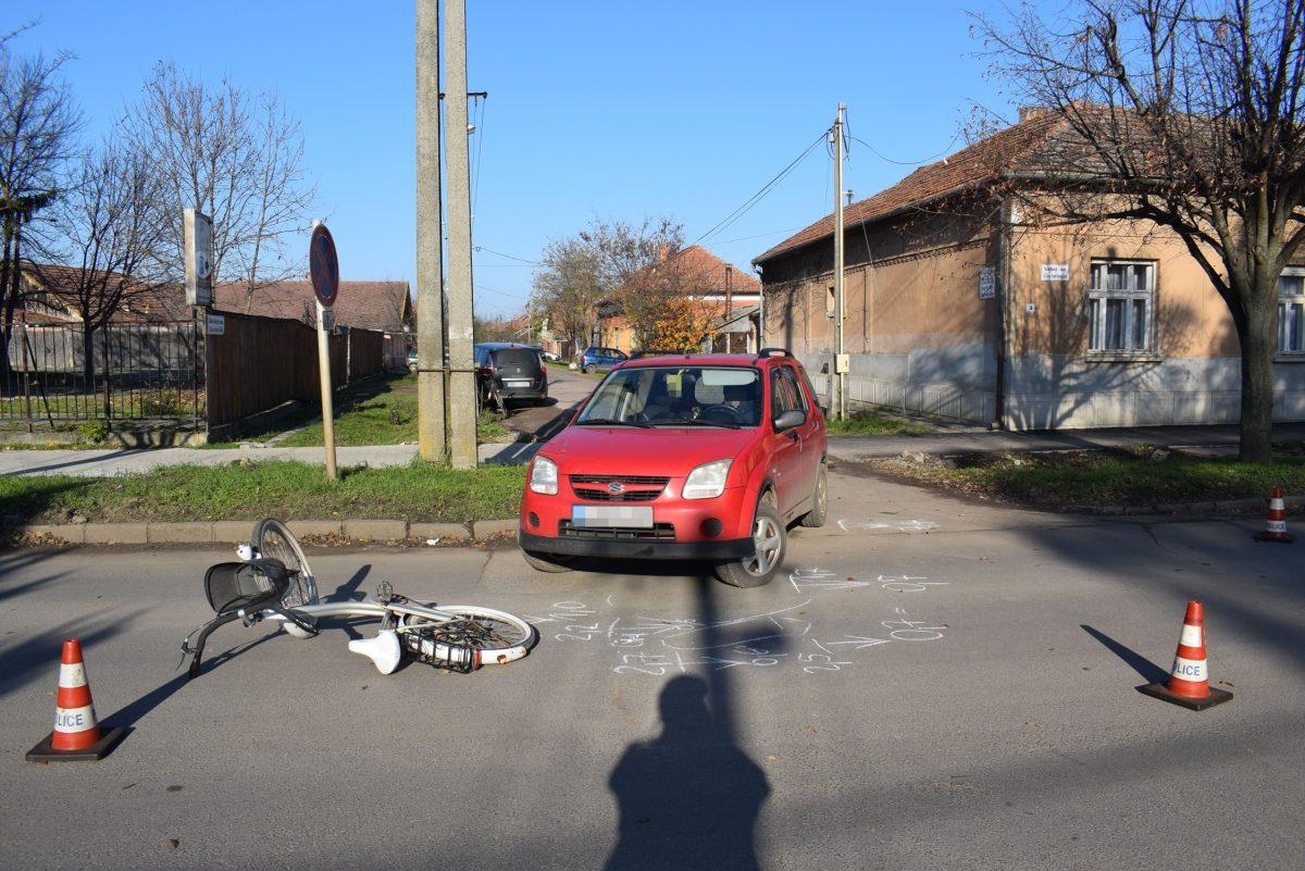 Két balesetben ketten könnyebben megsérültek