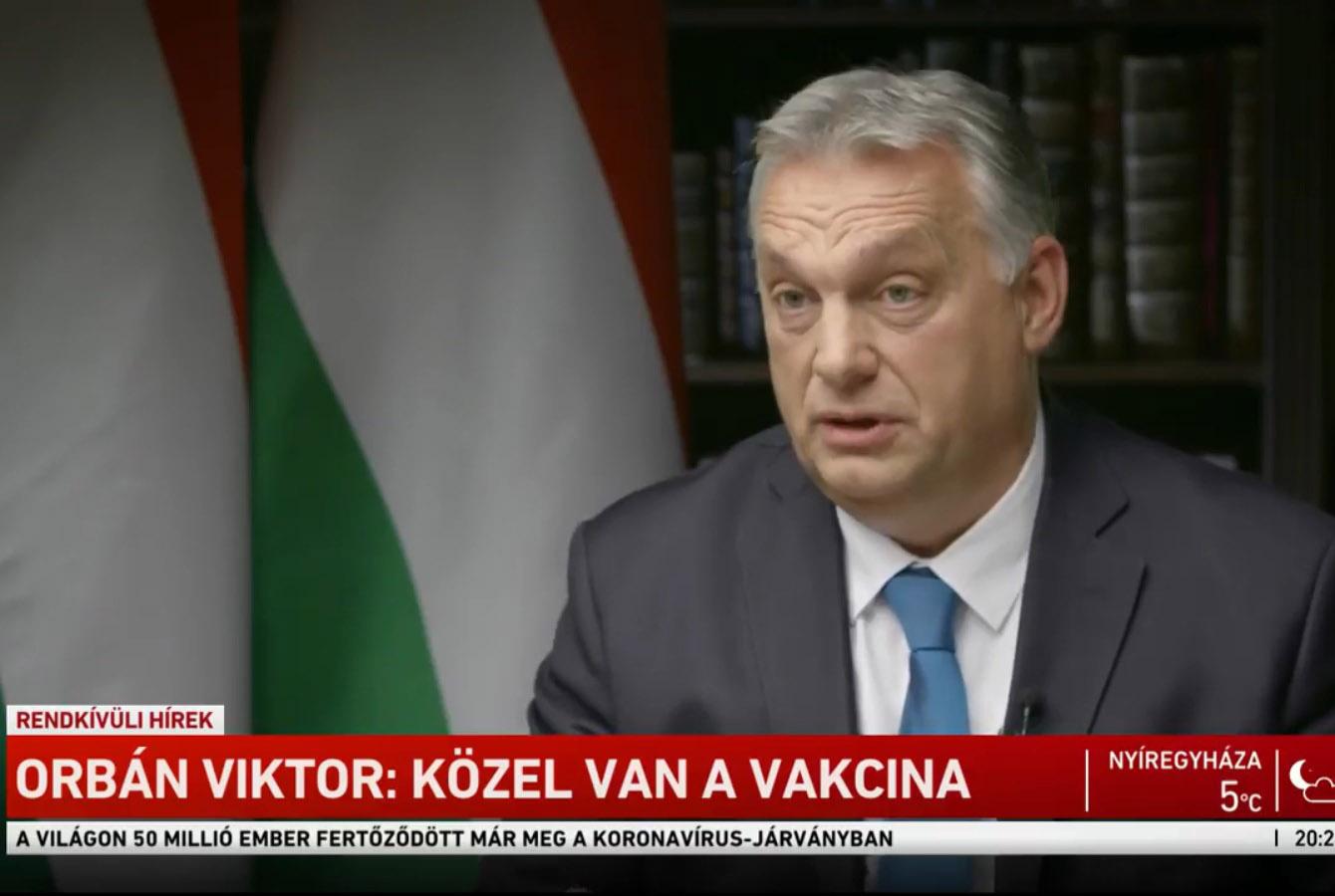 Orbán: kötelező a maszkhasználat a közterületeken