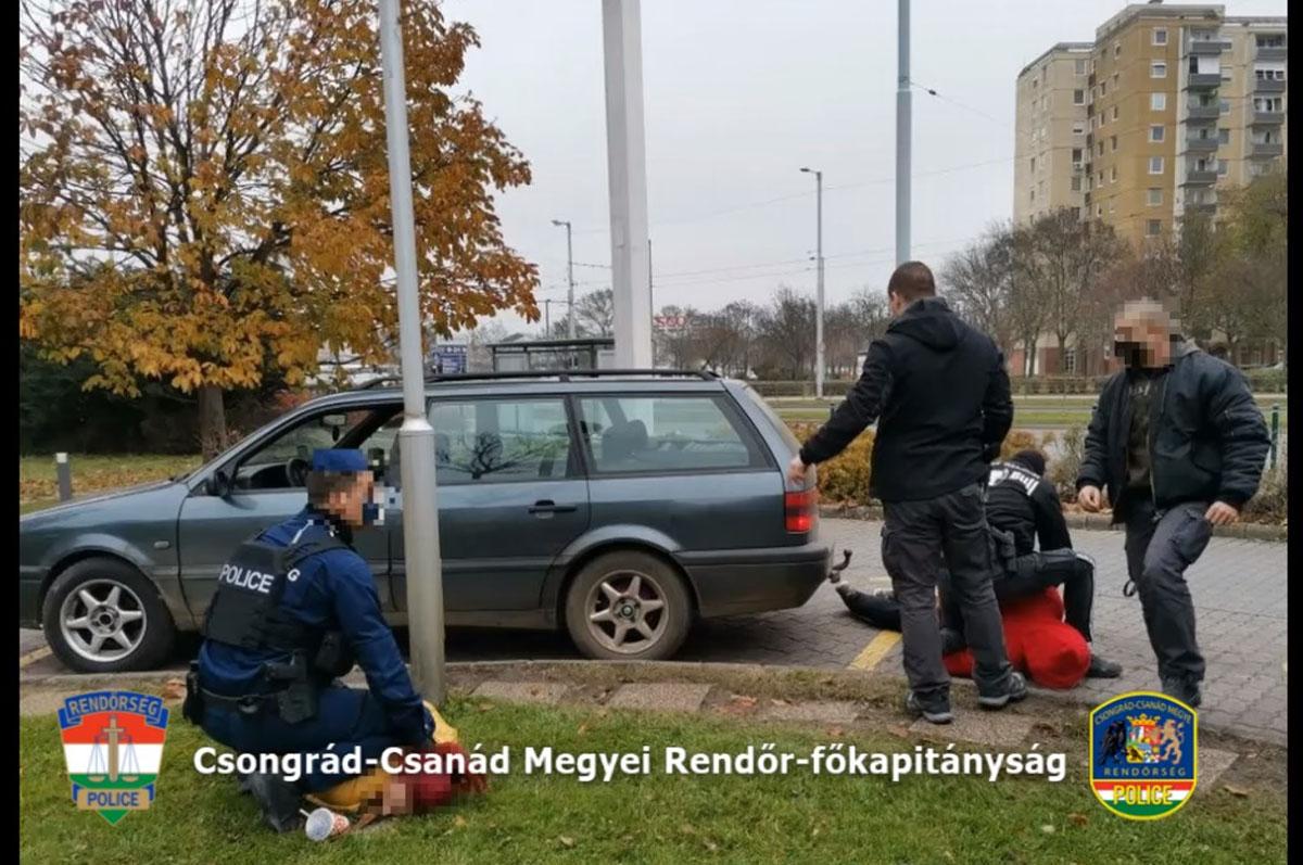 Kábítószerterjesztő-hálózatot számoltak föl a rendőrök Szegeden