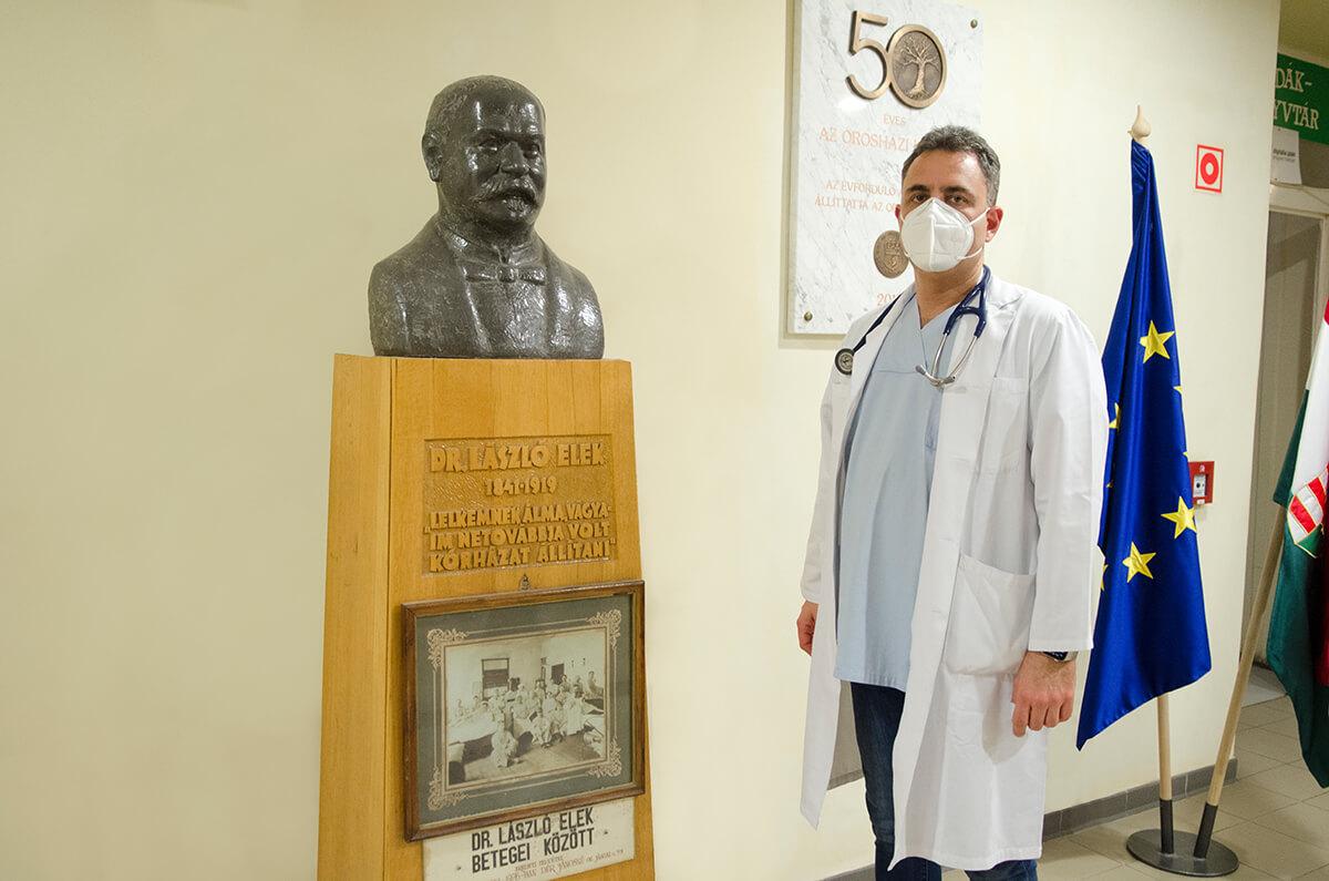 Dr. László Elek lett az Orosházi Kórház névadója