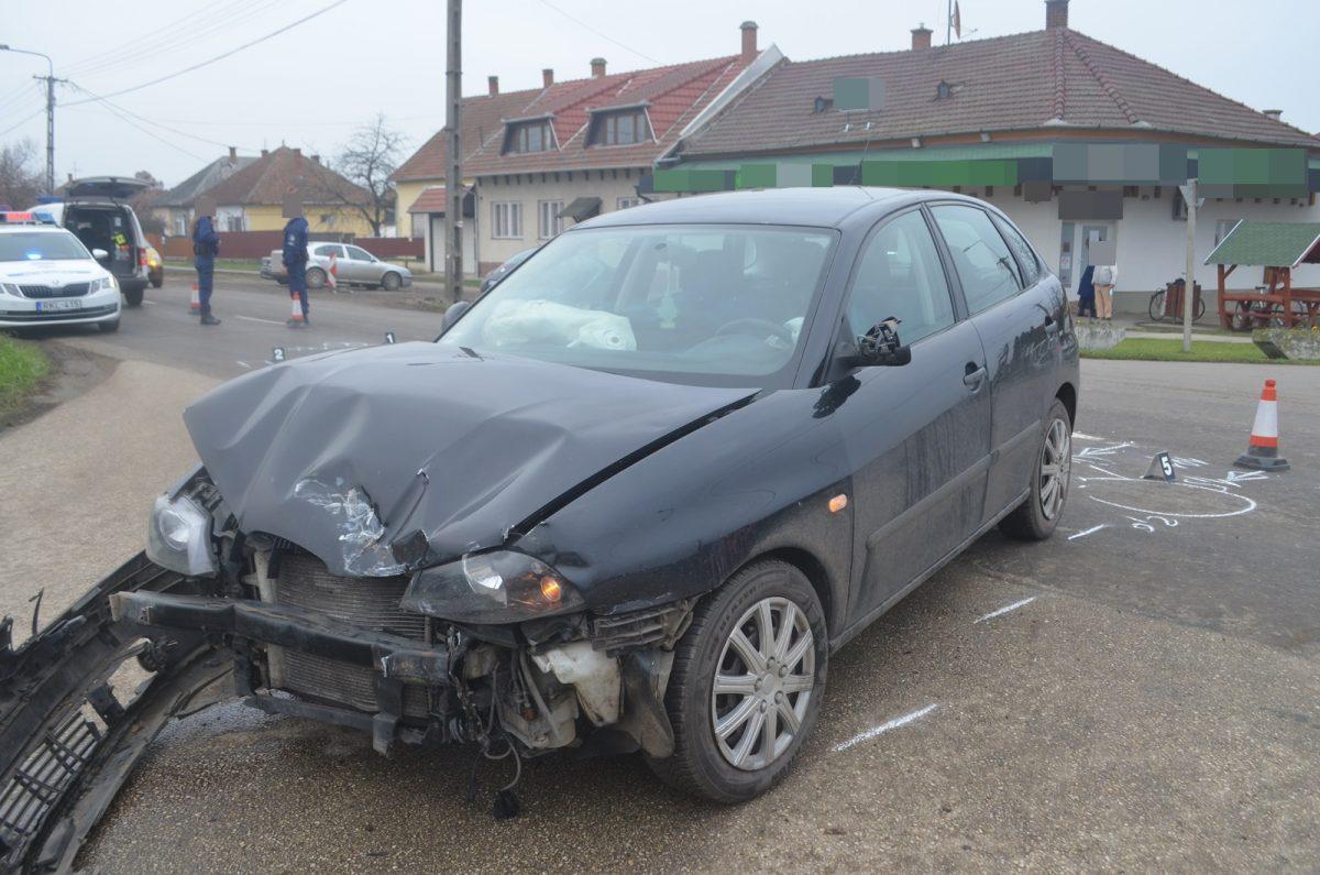 Három balesetben öten sérültek meg a megyében