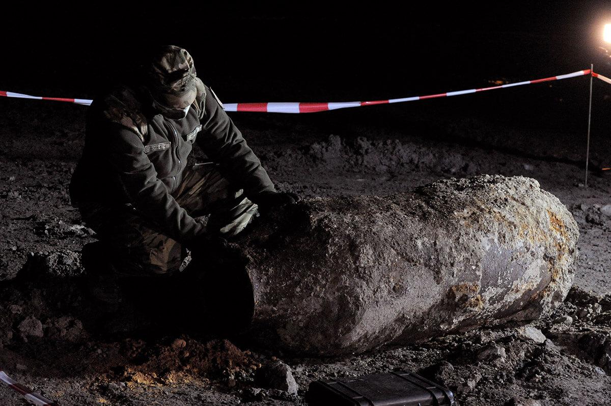 Hatástalanították a Kvassay hídnál talált egytonnás légibombát