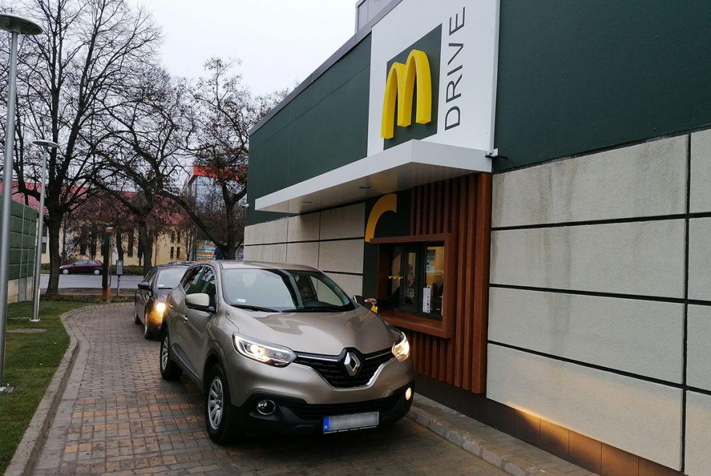 McDonald's Békéscsaba, megnyílt a meki
