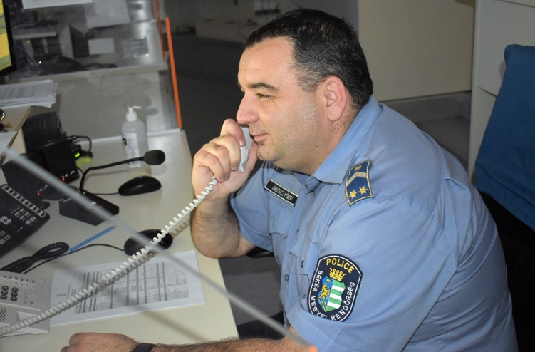 Üzenetben köszönte meg a magyar rendőrök segítségét egy román nő
