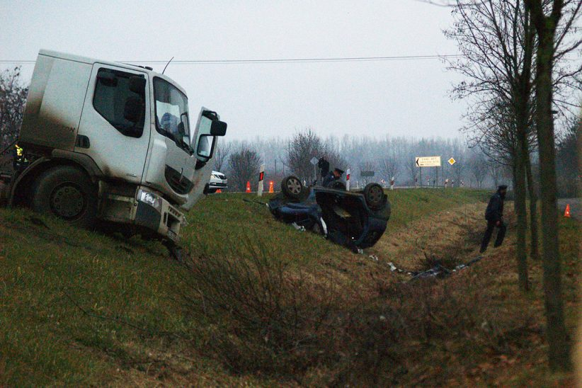 halálos baleset Békéscsaba közelében