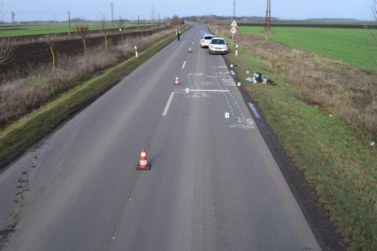 Négy balesetnél helyszíneltek a megye rendőrei