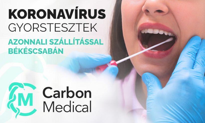 Carbon Medical, gyersteszt rendelés