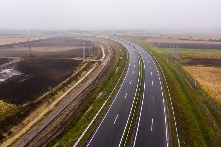 Pénteken átadásra kerül az M44 gyorsforgalmi út Kondoros és Békéscsaba közötti szakasza
