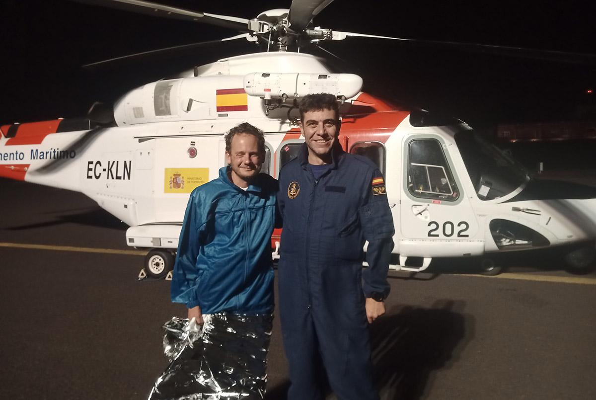Rakonczay feladni kényszerült óceánátkelési kísérletét