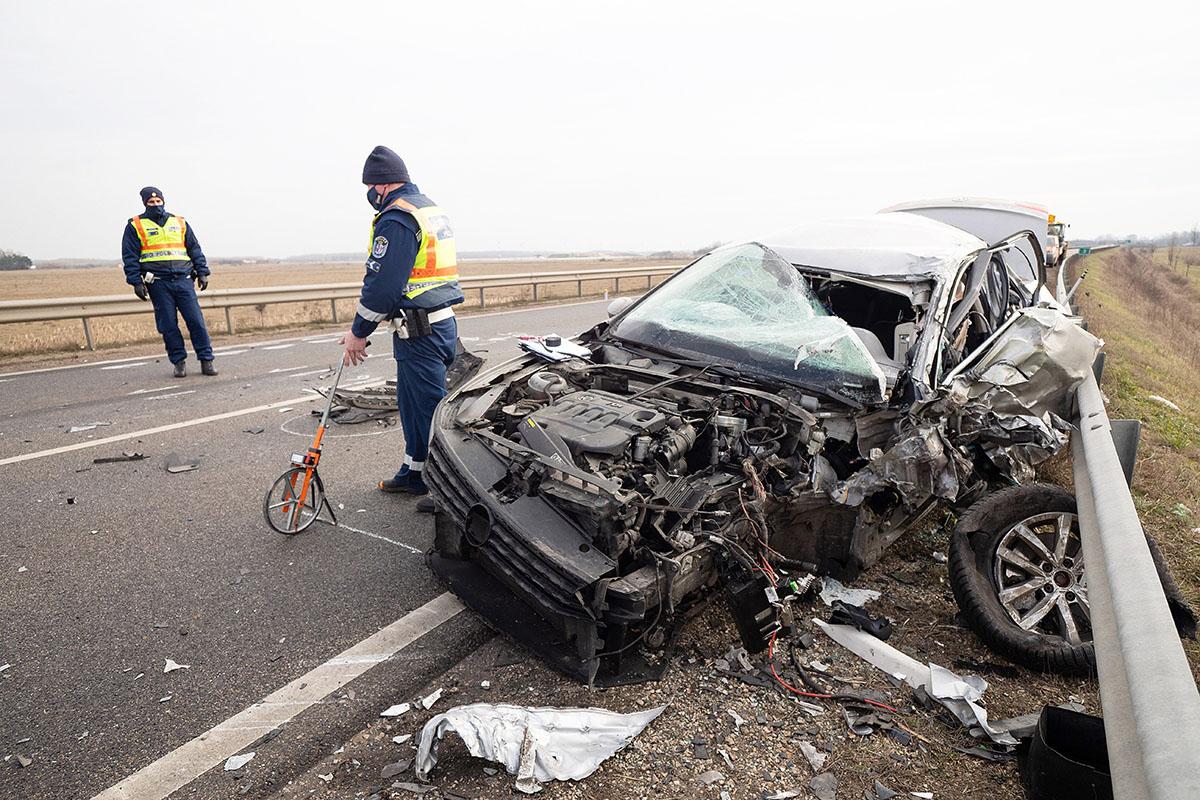 Halálos baleset történt Kecskemét térségében