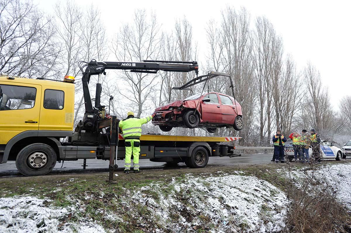 Halálos baleset történt Taksonynál