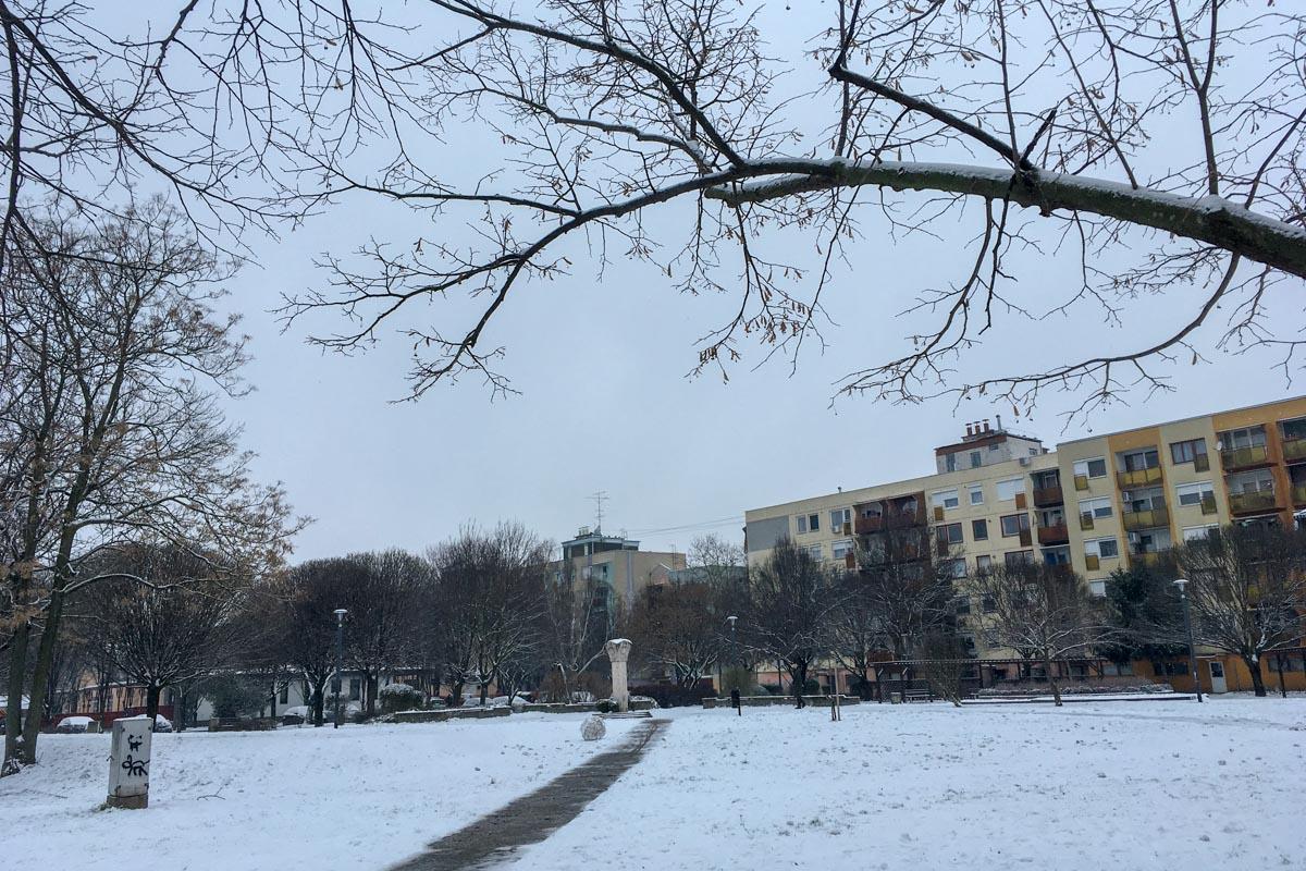 Országszerte sokfelé havas a táj
