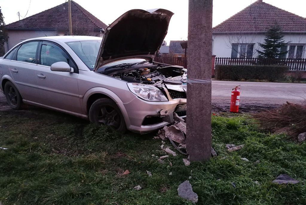 baleset Békésen