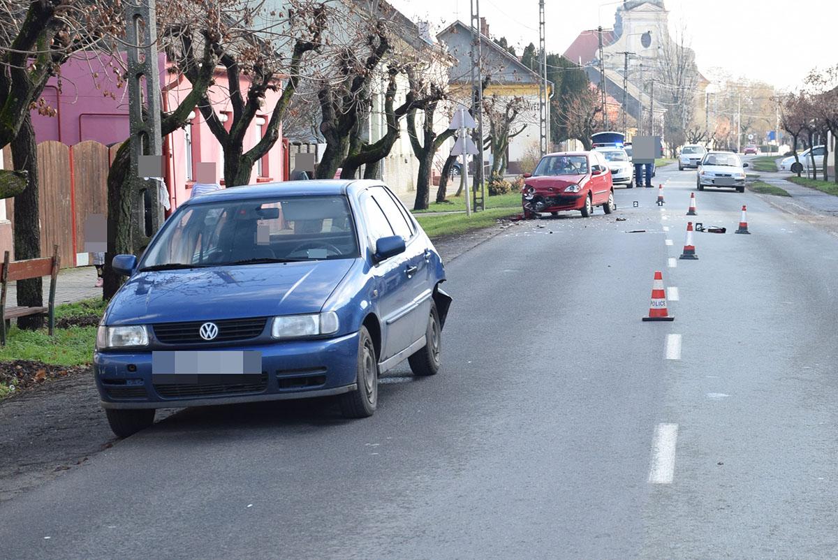 Közlekedési baleset, előállítások és őrizetbe vétel Békés megyében