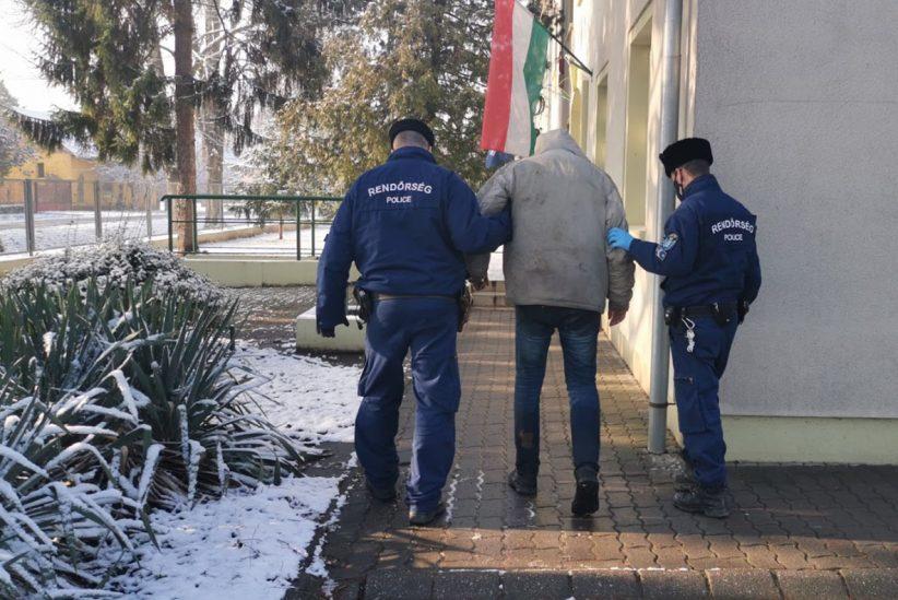 határsértők elfogása