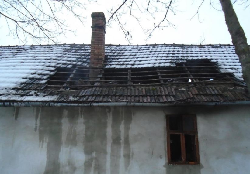 kiégett ház Békéscsabán