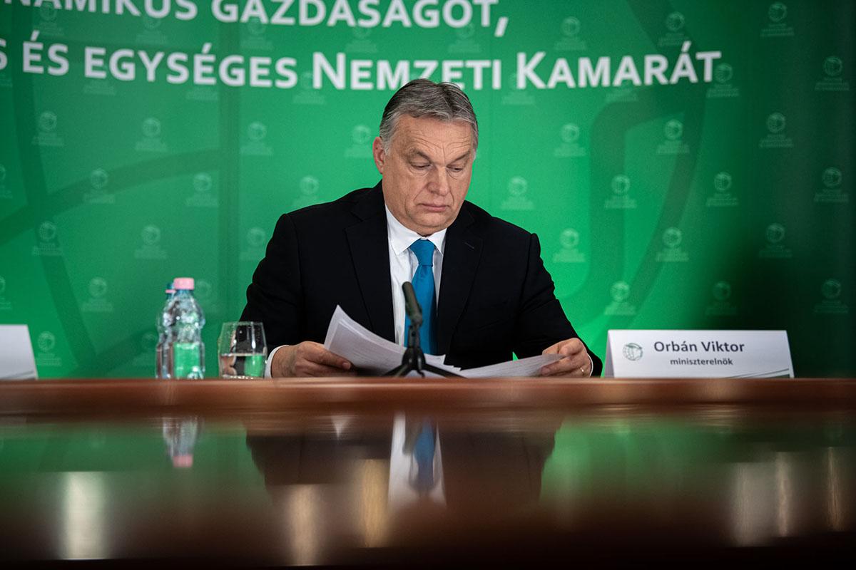 Orbán: elindult a gazdaság-újraindítási akcióterv