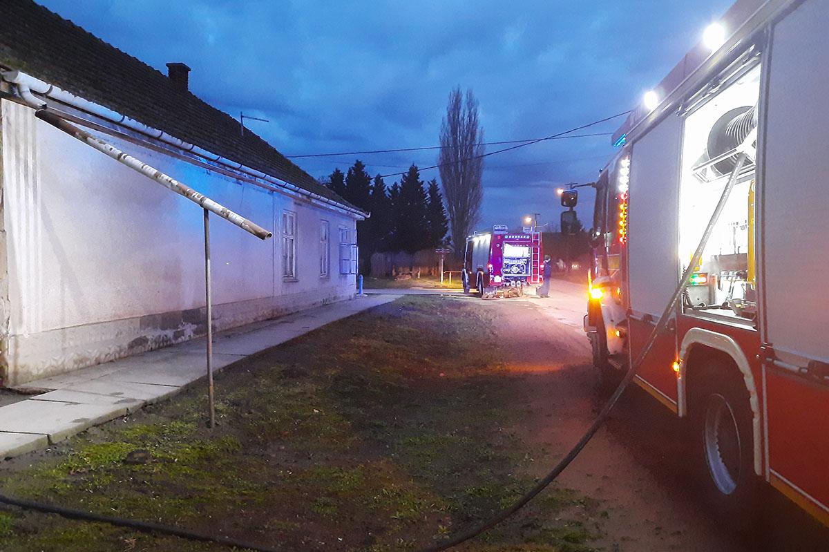 Kéményben keletkezett tűz Kevermesen