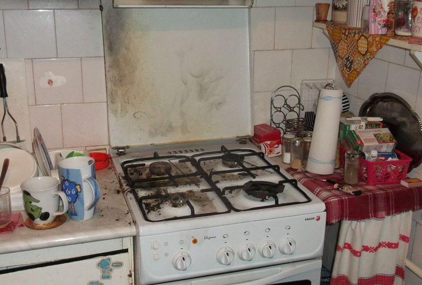 tűzhelyen felejtett olaj gyulladt ki Gyulán