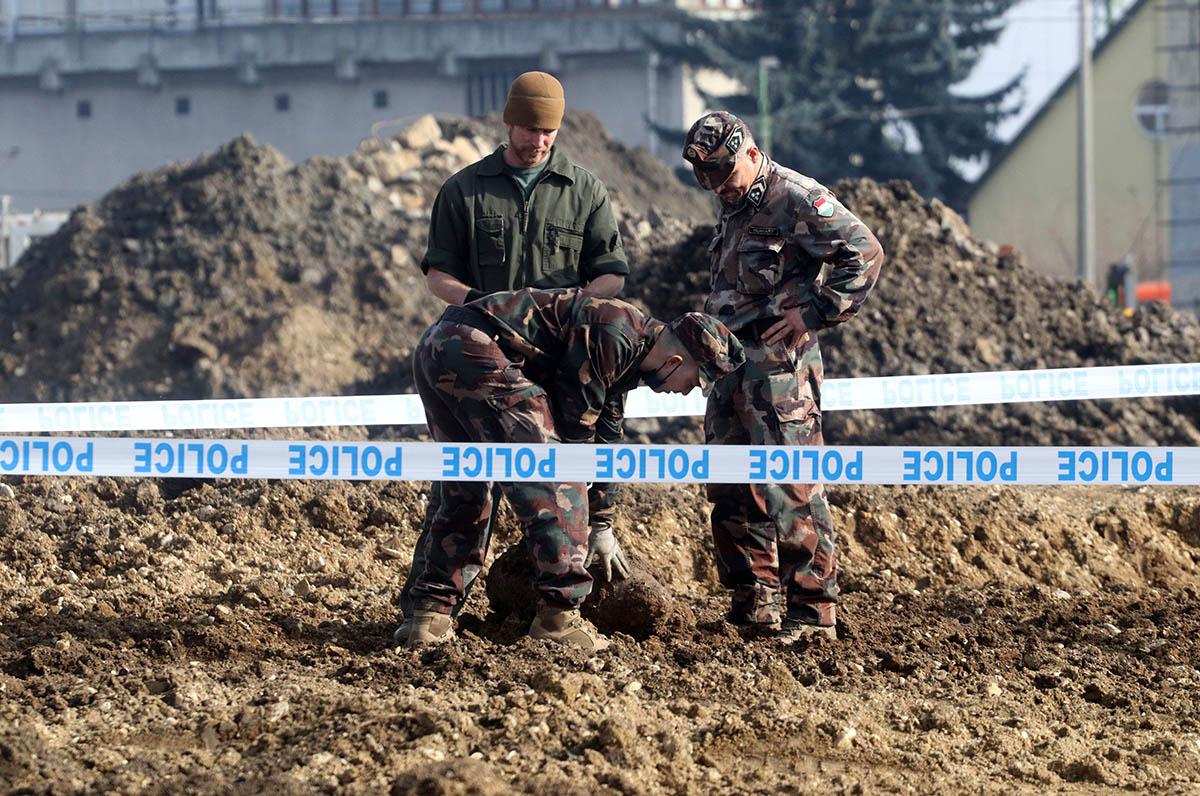 Világháborús légibombát találtak Miskolcon