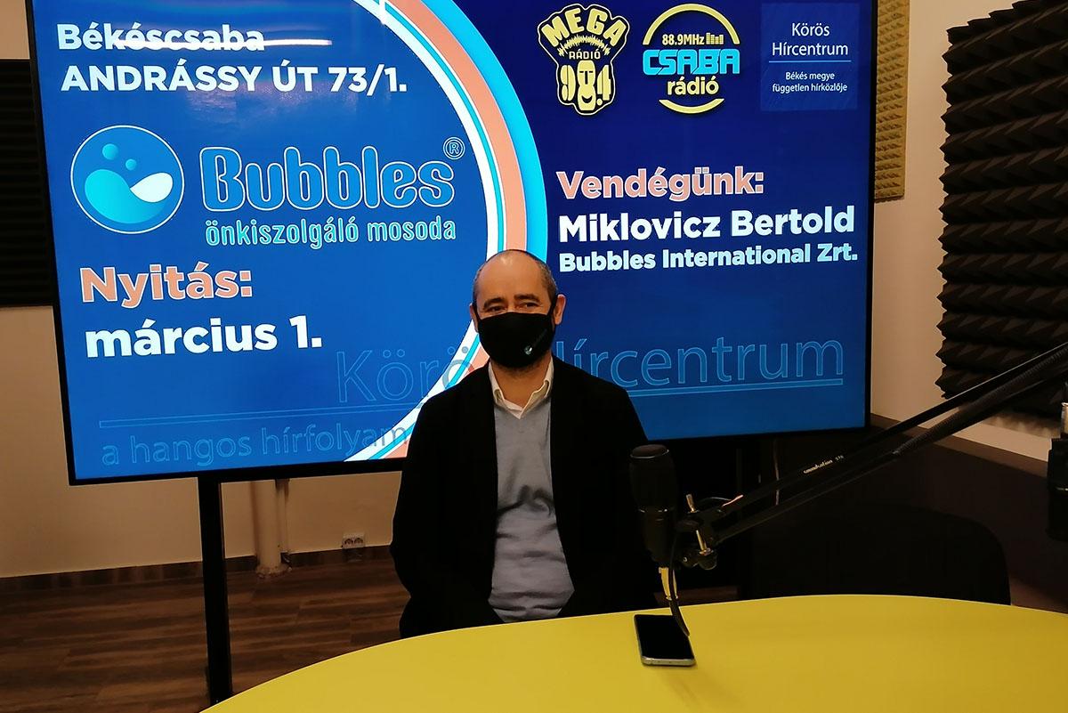 Miklovicz Bertold, Bubbles Békéscsaba