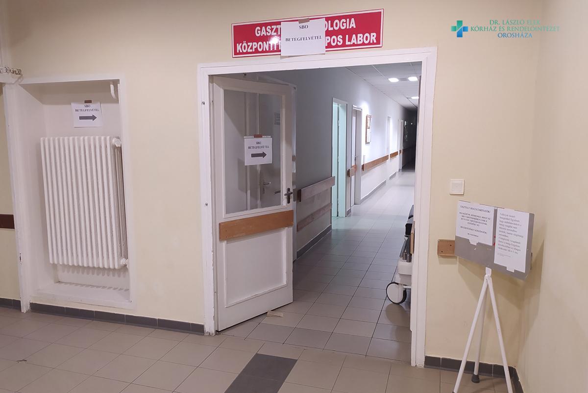 Hétvégén új helyen az SBO betegfelvétel Orosházán