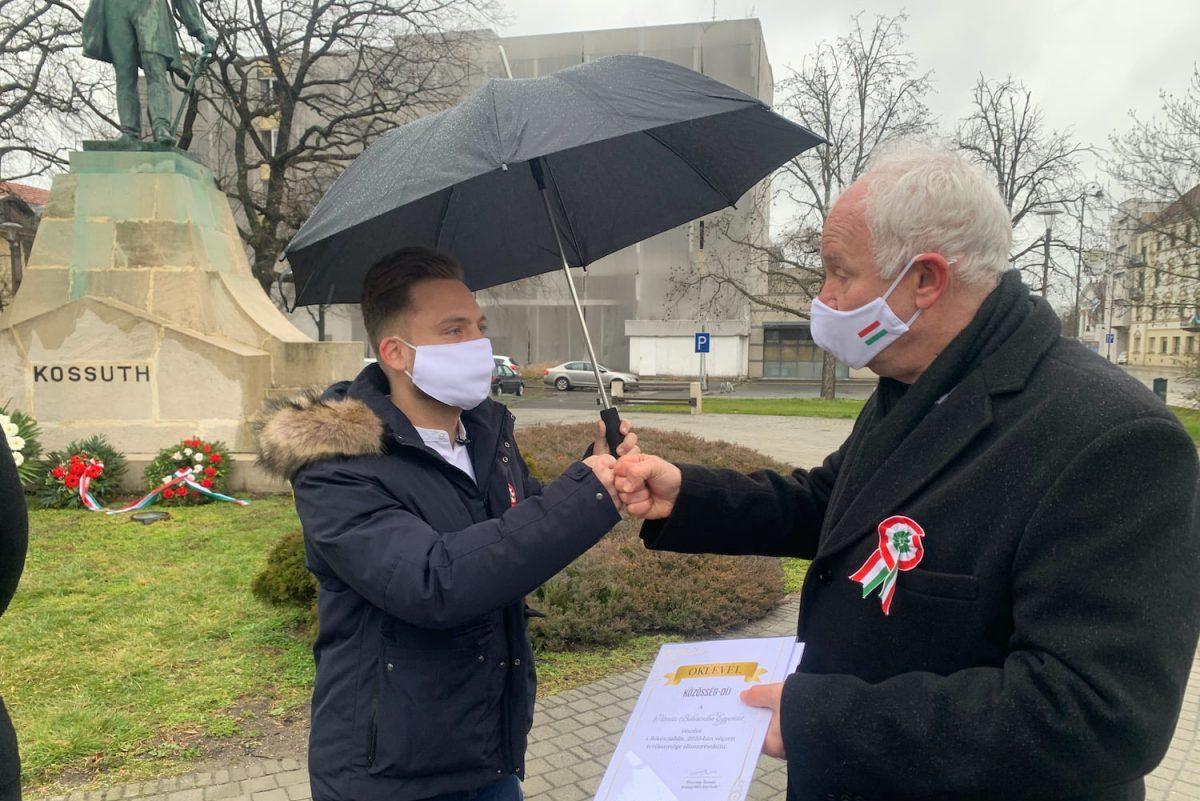Átadta az első Közösség-díjakat Herczeg Tamás országgyűlési képviselő