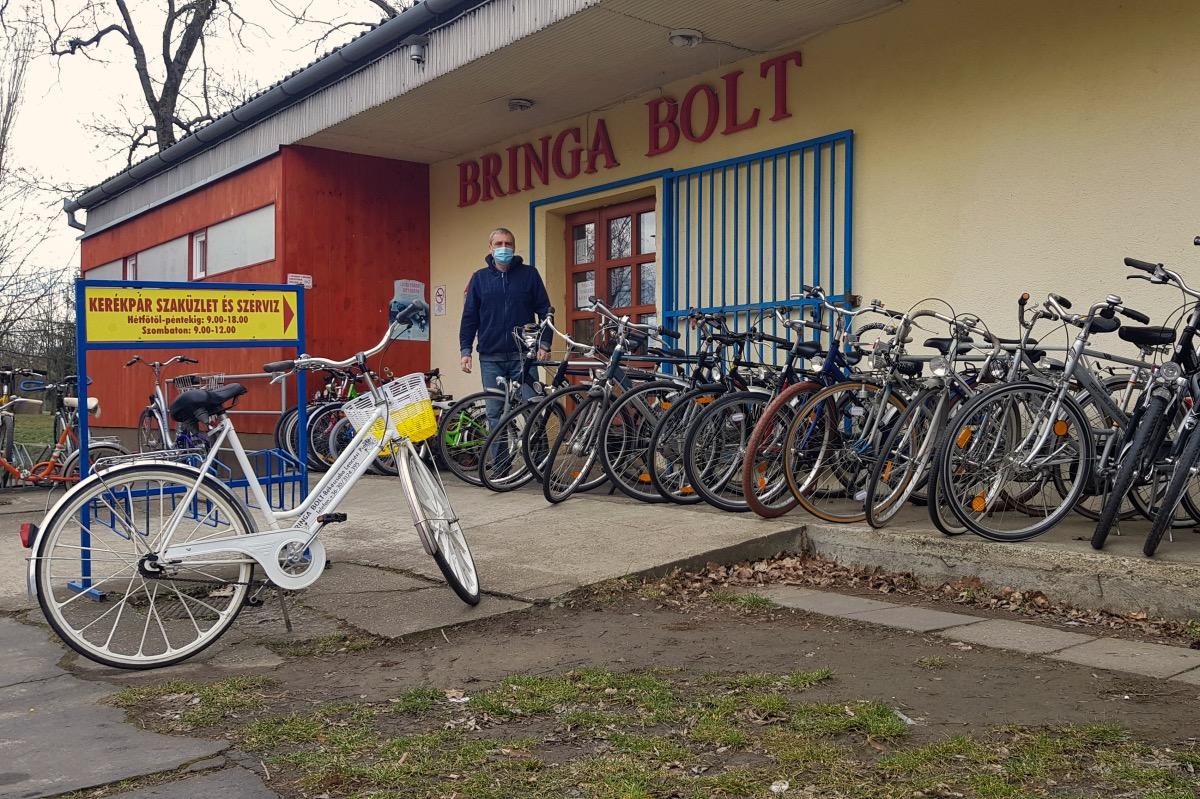 A tavasz kicsalja a kerékpárokat is a garázsokból