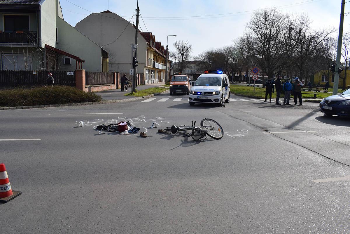 Orosházán balesetnél helyszíneltek, Pusztaottlakán körözés alapján intézkedtek a rendőrök