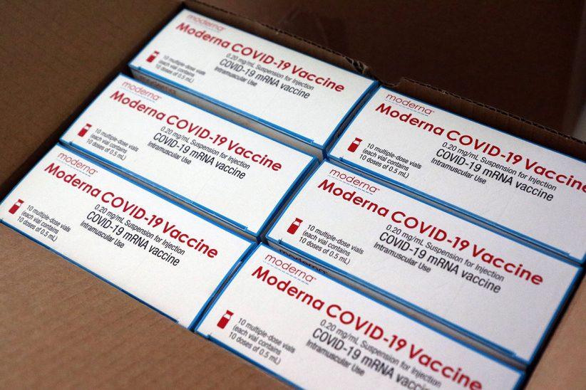 Moderna, koronavírus, oltás, vakcina,
