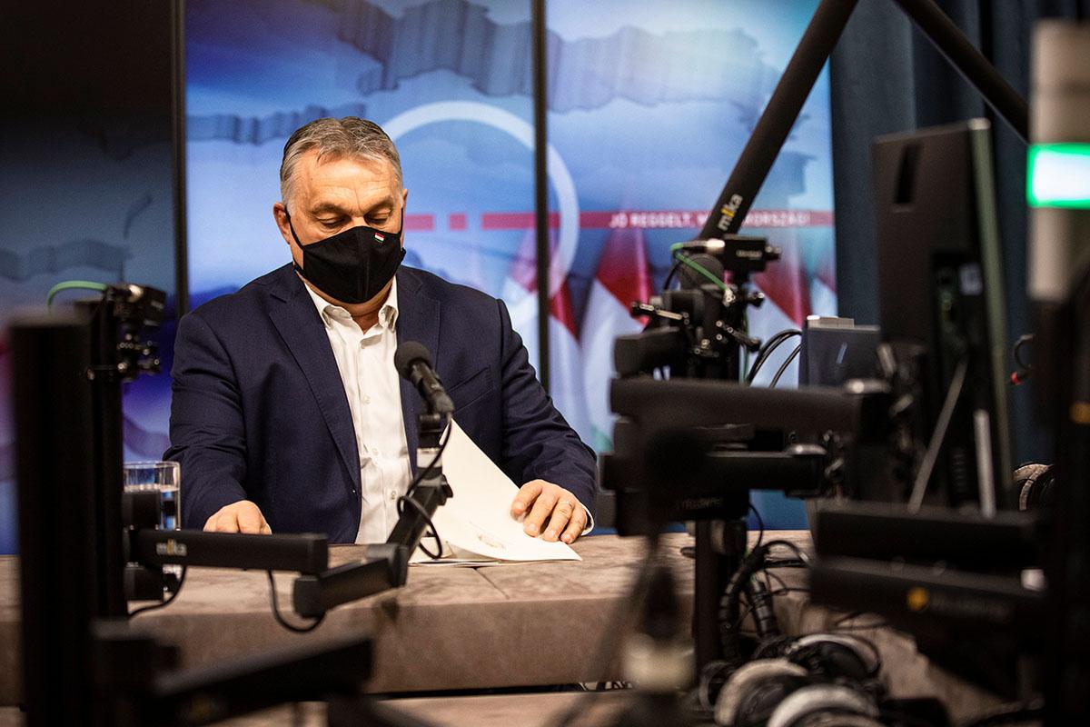 Orbán: most zárnunk kell ahhoz, hogy húsvétkor nyithassunk