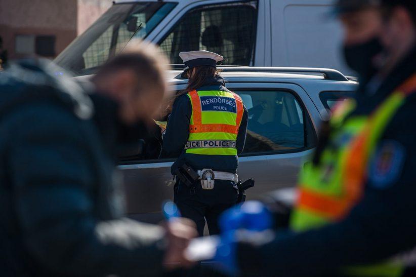 rendőr, rendőrség, ellenőrzés, közlekedés