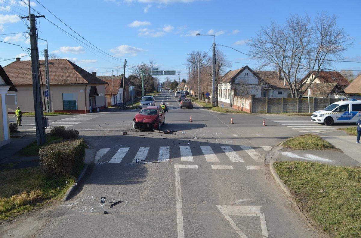 Orosházán baleset, Kevermesen súlyos testi sértés miatt intézkedtek