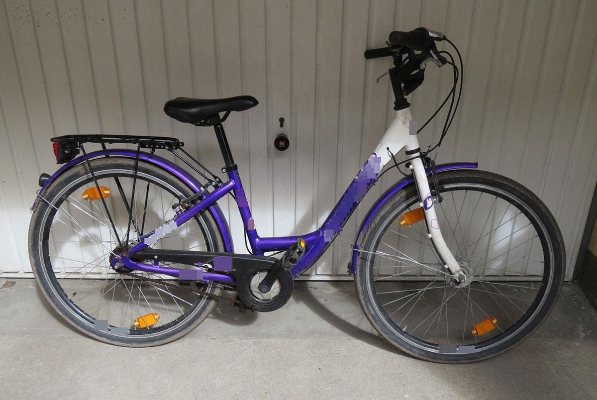 Lopott és lefoglalt kerékpár tulajdonosát keresi a rendőrség