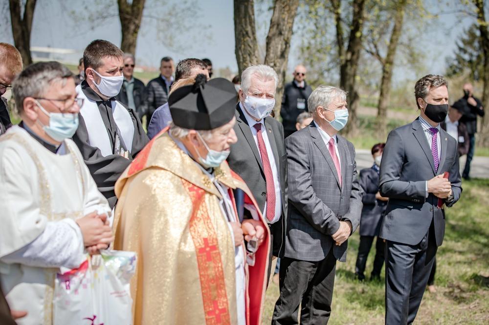 A búzatábla megáldásával vette kezdetét a Magyarok Kenyere program