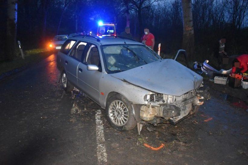 Bélmegyer baleset, baleset Bélmegyer közelében