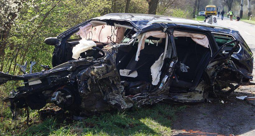 baleset Bélmegyer közelében