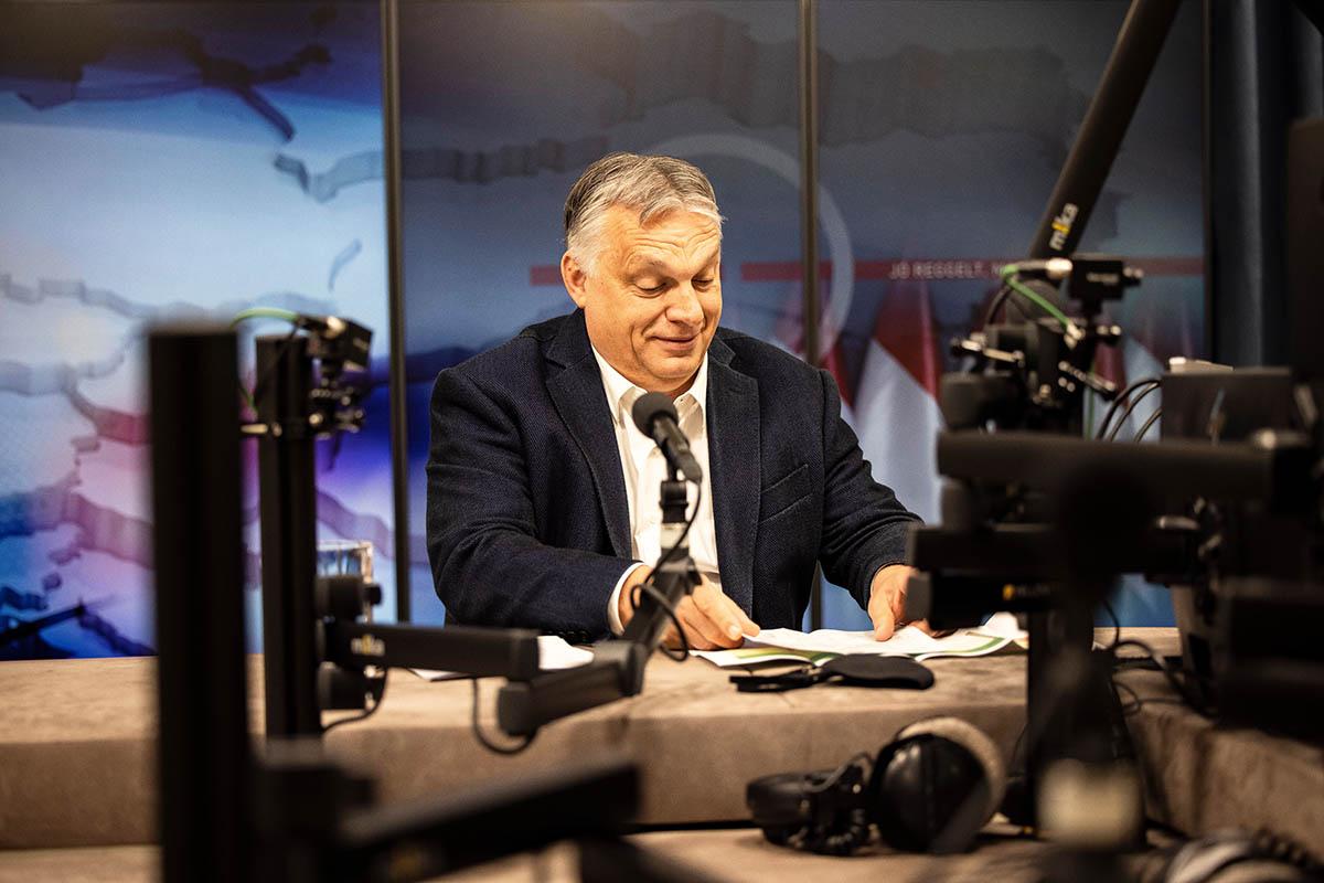 Orbán: Megvan a négymillió beoltott