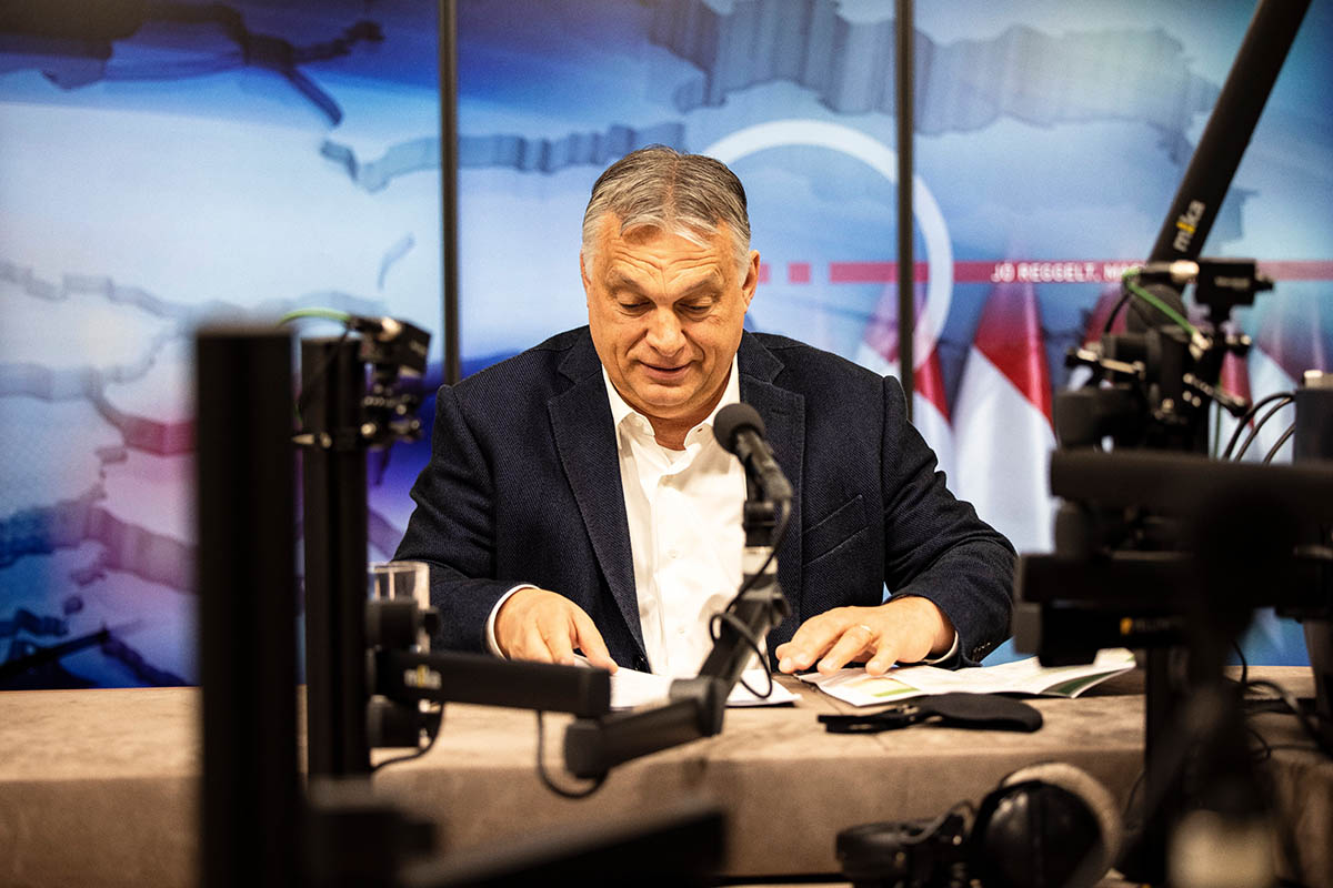 Orbán: ezer alá csökkent a lélegeztetés nélkül kórházban lévő betegek száma