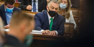 Orbán a parlamentben