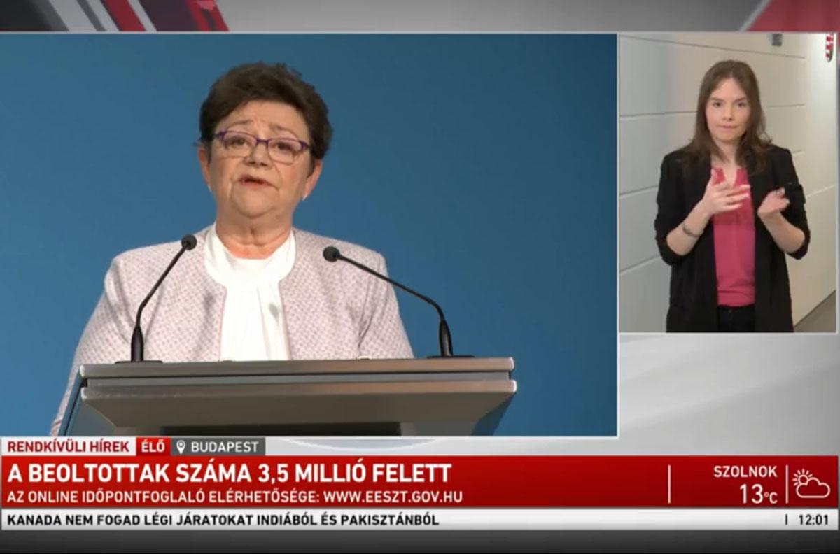 Müller Cecília: Elrendelem a tömeges oltást
