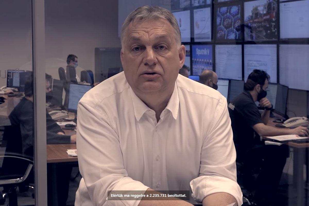 Orbán Viktor: Húsvétkor is védekezünk; aki behívót kap, vegye fel az oltást!
