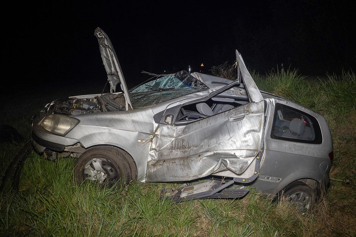 Árokba borult egy autó Dunatetétlen térségében, a sofőr meghalt